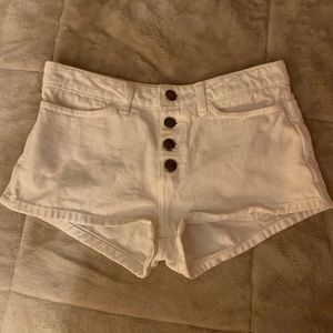 American Apparel 4 button shorts